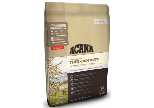 Acana Free-Run Duck for dogs 11,4 кг, фото 1
