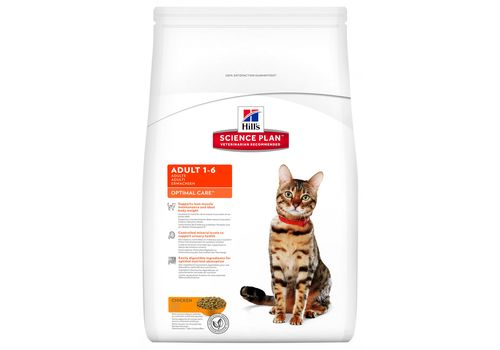 Hill's Science Plan Feline Adult с курицей 2кг + 25%, фото 1